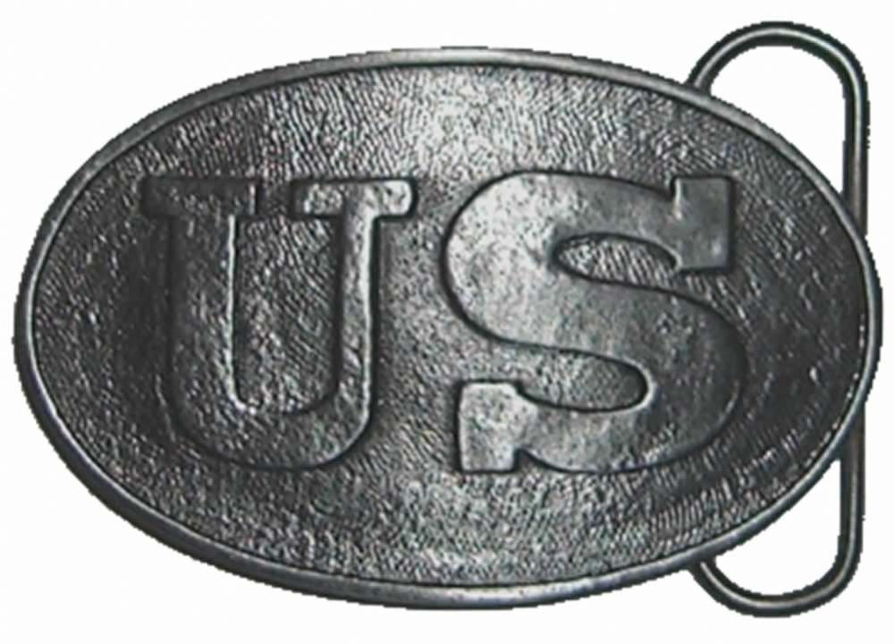 Us Civil War Belt Buckle With Display Stand Code Ma6